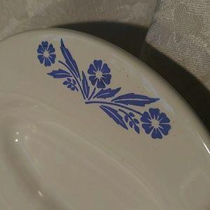 corningware Kitchen - Vintage Corningware Sunflower Blue Roasting Dish